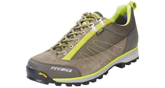 Tecnica Makalu Low GTX Shoes Men Warm Grey-Lime